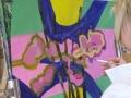 Atelier du Laurier Rouge, Stage Art Abstrait, gouache sur papier